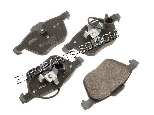 Brake Pad Set-Ate Front 2001-2003