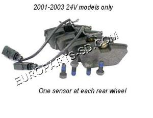 Brake Pad Set-Rear 2001-2003