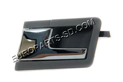 Left Interior Door Handle-Chrome 1992-2003