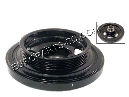 Crankshaft Pulley/Vibration Damper-Standard A/C 2002-2006