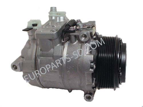 A/C Compressor-Front or Main 2007-2014 Diesel