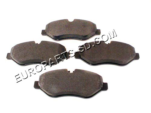 Brake Pad Set-Rear 2500 2007-2014