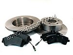 2007-2011 Sprinter Brake Kits 2500 Rear