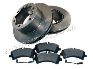 2007-2011 Sprinter Brake Kits 3500 Rear