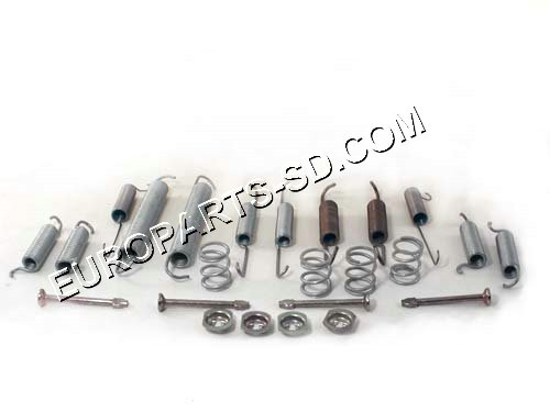 Rear Brake Shoe Hardware Kit 1992-1996