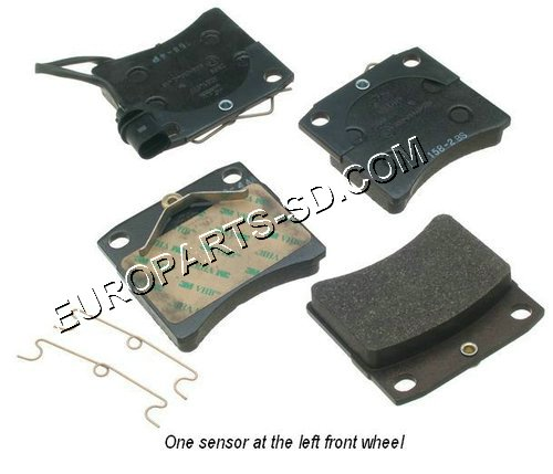 Brake Pad Set-Lucas Girling Front 2000 model year only