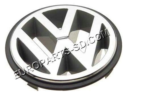 "Emblem-Front Chrome ""VW"" 1992-1996"