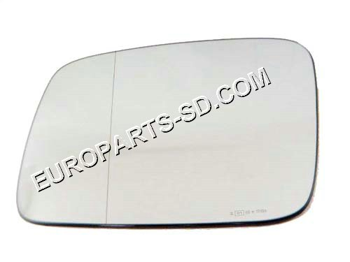 Mirror Glass Heated-Left Aspherical (European) 1992-2003