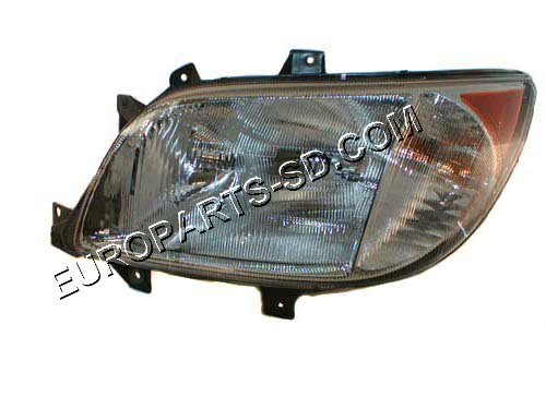 Headlight Assembly-Left w/Fog Light-Freightliner 2002-2006