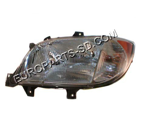 Headlight Assembly-Left w/Fog Light-DODGE 2002-2006