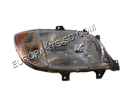 Headlight Assembly-Right w/Fog Light-DODGE 2002-2006