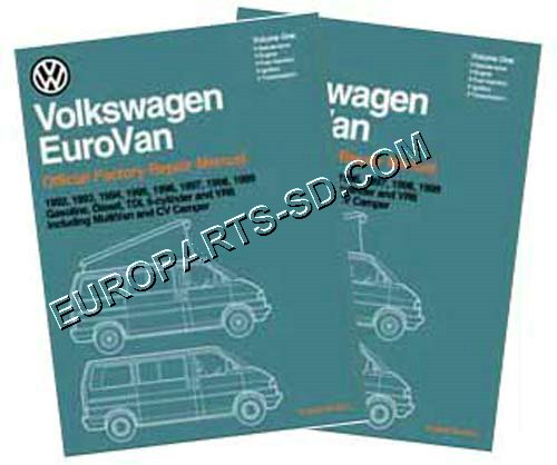 Factory Service Manual-Printed 1992-1999