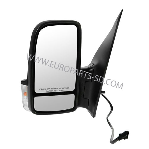 Door Mirror Assembly-Left Electric  2007-2009