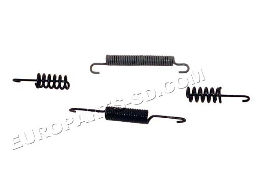 Parking Brake Shoe Spring Kit 2500 & 3500-Rear 2002-2006