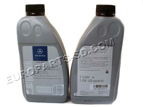 Transmission Fluid-OEM Mercedes 1 Liter  2002-2014