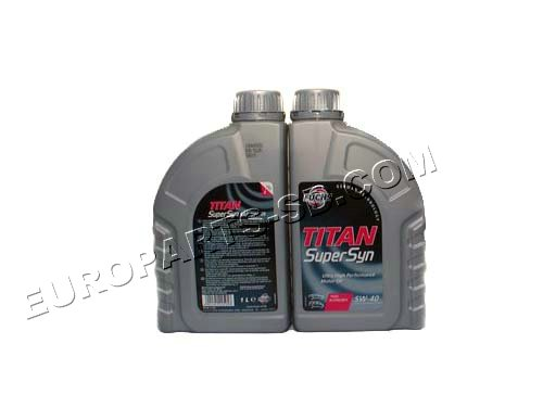 Engine Oil-Fuchs 1 Liter 5W40 2002-2006