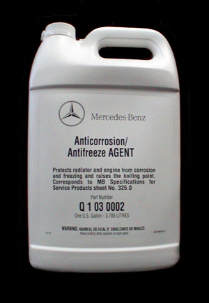 Coolant-Genuine Mercedes
