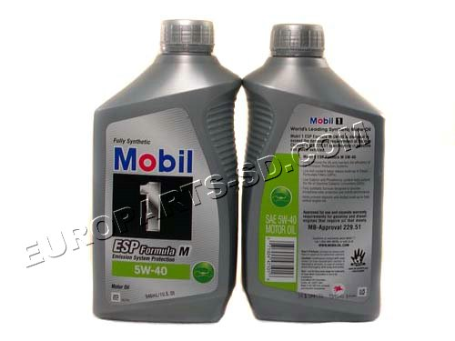 Mobil Formula M 5W 40