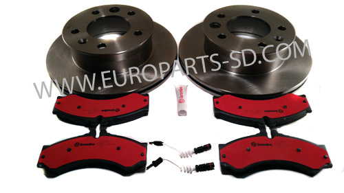 "2002-2006 Sprinter 2500/3500 Front Bosch Brake Kit-15"" Wheel"