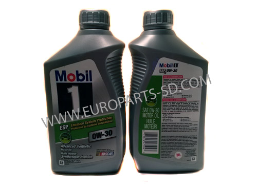 Engine Oil-Mobil 1 Quart 5W-40 2007-2010